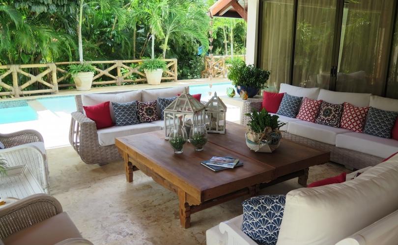 Casa de Campo villa for rent with 5 bedrooms in Cerezas